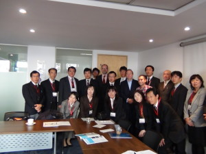 Japanese delegation visits tasksforce