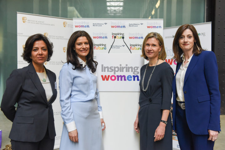 Saba Nazar, Vice Chair of Investment Banking at the Inspiring Women in the Arts event