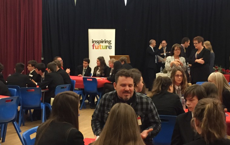 Lord Nash visits Charles Dickens School in Broadstairs with Inspiring the Future
