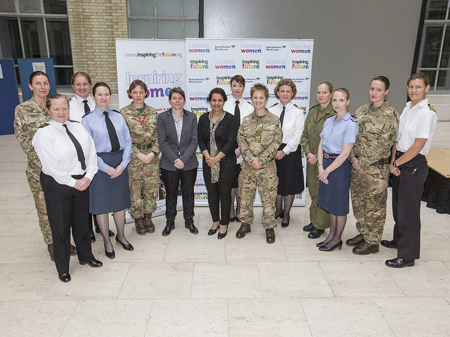 Inspiring Women in Defence – pilots to medics – motivate at the MOD