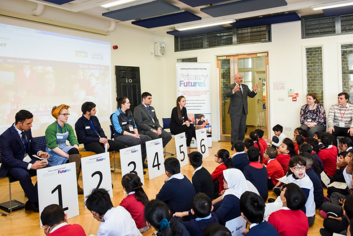 Prime Minister's Apprenticeships Tsar launches scheme to get Apprentices into primary schools
