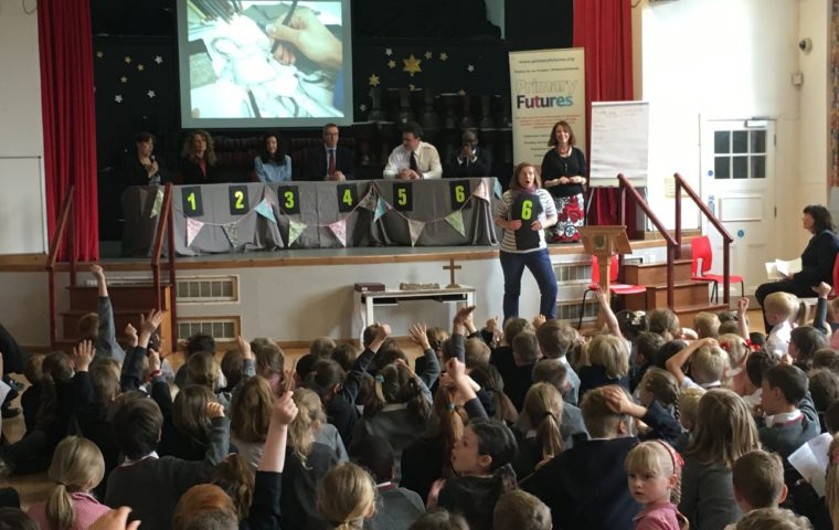 Primary Futures inspires pupils in Folkestone with our coastal towns campaign