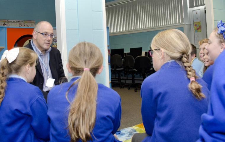 Primary Futures inspires pupils at Moor Park Primary School