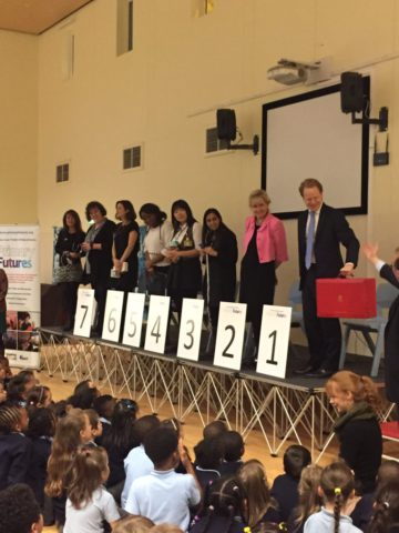How volunteers from the world of work are making a difference in primary schools