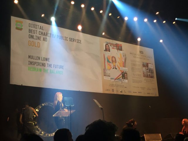 Double gold: #RedrawtheBalance wins two national awards
