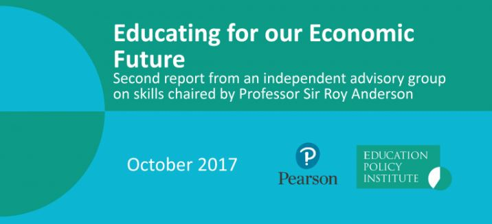 Educating our economic future: Second report from an independent advisory group on skills chaired by Professor Roy Anderson