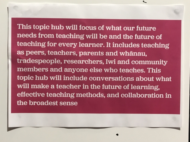 Innovative approach to planning New Zealand's Education Strategy