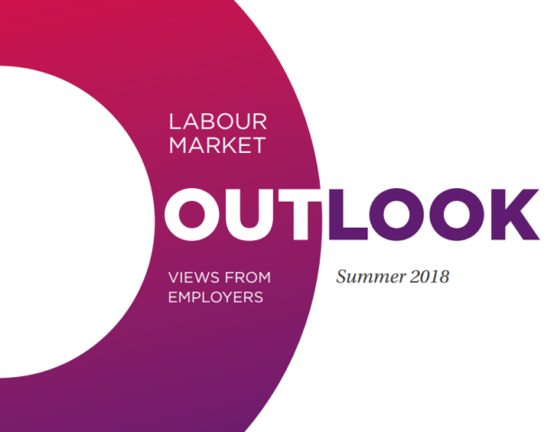Labour market outlook: Views from employers - Summer 2018