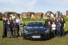 A Celebration of British Engineering with Aston Martin, Brompton Bicycle and the RAF