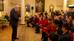 Children from across the UK visit 10 Downing Street to ask the PM questions