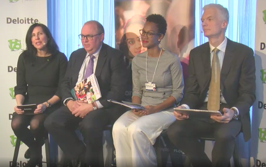 panel discussion: How can today's leaders prepare tomorrow's workforce for a rapidly changing world of work?