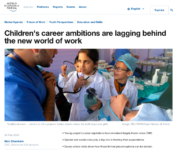 World Economic Forum publishes report on careers and Davos school visits