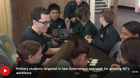 New Zealand: Primary Futures/Inspiring the Future rolled out nationally